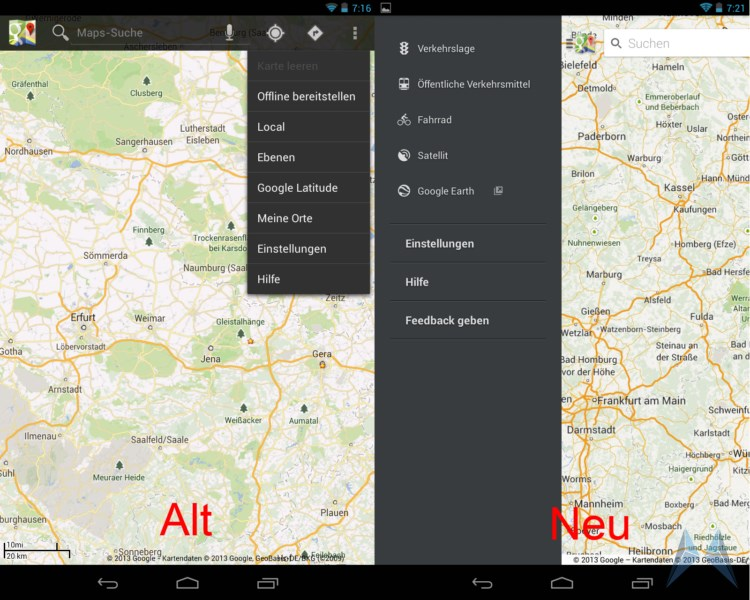 Cache Google Maps Android on