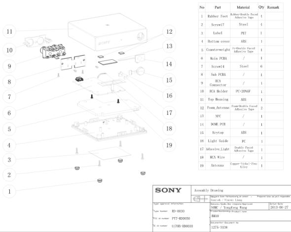 Sony-BM-10-assembly