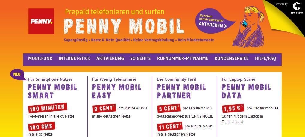 Www Pennymobil De Aktivieren
