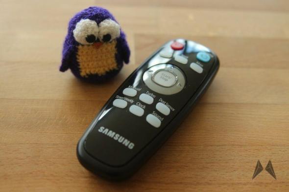 Samsung NaviBot Fernbedienung IMG_5401