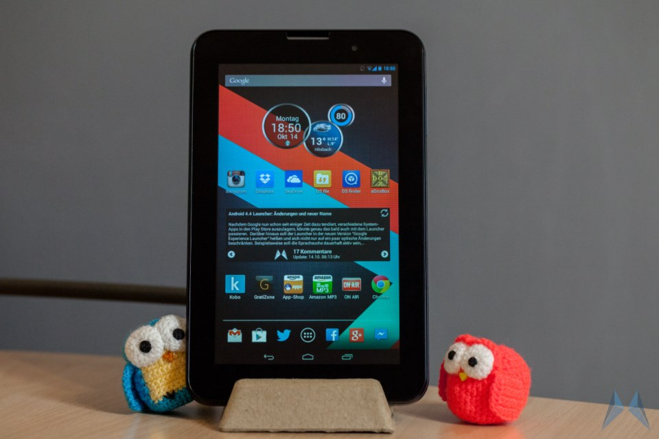 vodafone smart tab iii 7 zoll tablet im test. Black Bedroom Furniture Sets. Home Design Ideas
