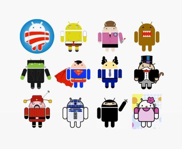 android logo Irina Blok 1