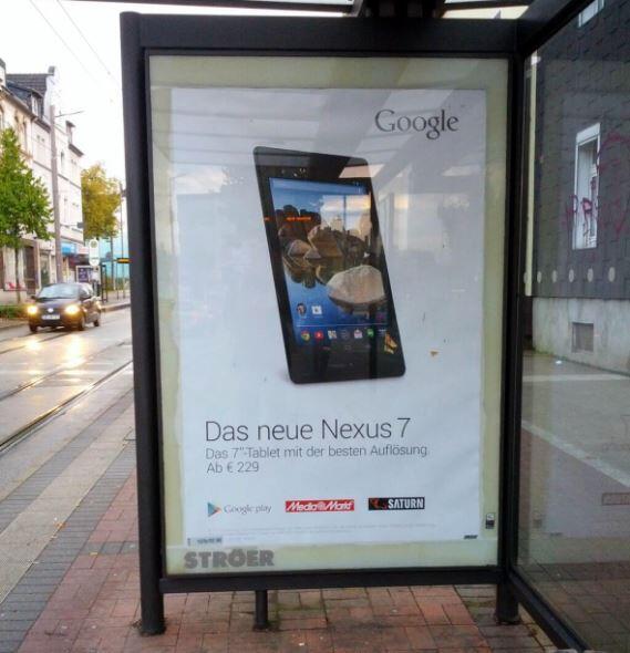 nexus 7 werbung deutschland