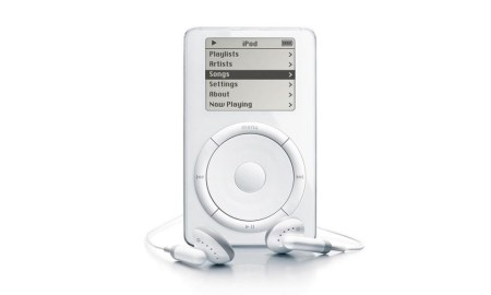 Apple iPod 1. Generation Presse Header