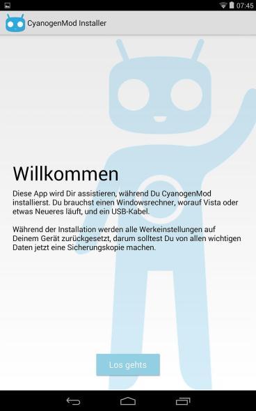 CYNGNMD Installer_Tablet
