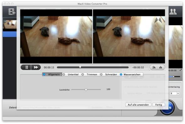 MacX Video Converter Pro Wasserzeichen