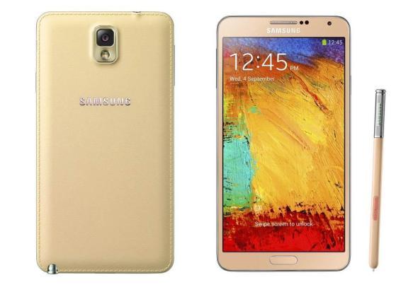 Samsung Galaxy Note 3 Weißgold