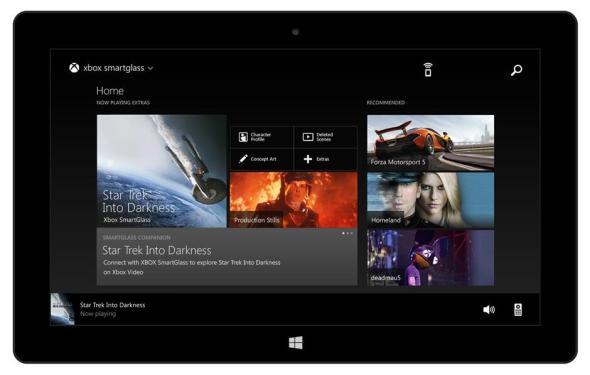 Xbox SmartGlass Windows Header