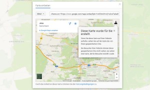 maps embed