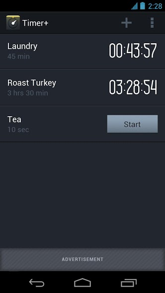 timer plus android