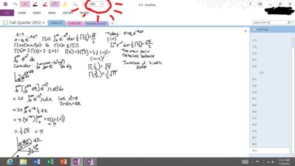 Mitschreiben auf dem MS Surface - da hält kein iPad mit