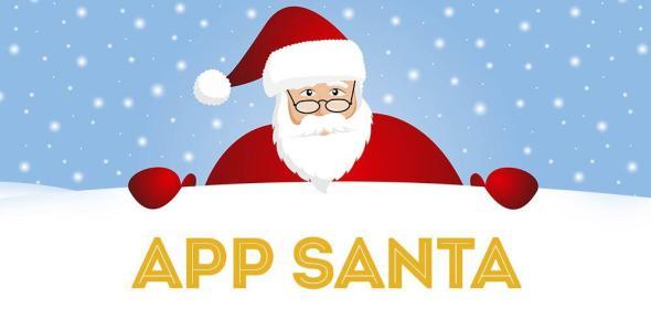 App Santa Header