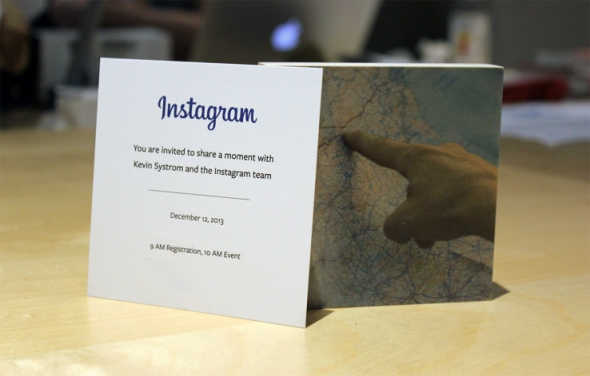 Instagram Einladung