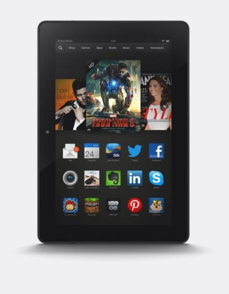 Amazon Kindle Fire HDX 8.9: nach einem billigeren Hi-End Tablet sucht man vergebens.