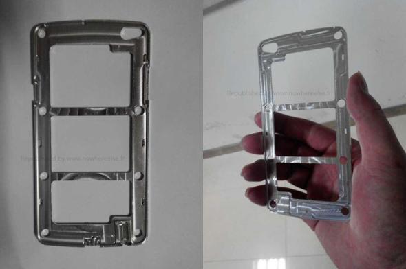 Samsung Galaxy S5 Metallrahmen