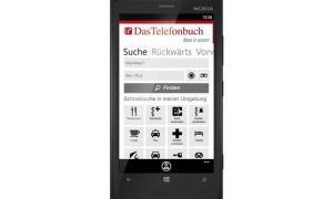 Telefonbuch Windows Phone Header
