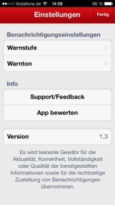 WetterAlarm iOS (3)