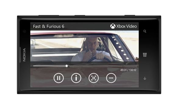 Xbox Video Header