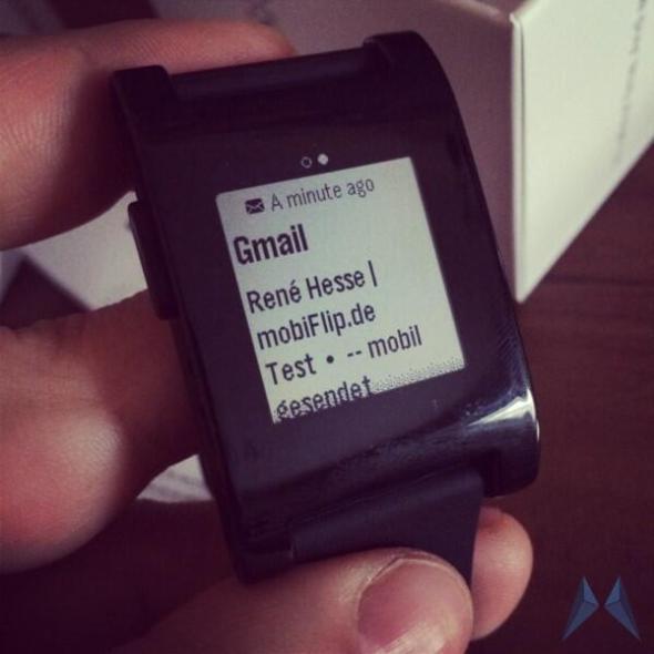 gmail pebble