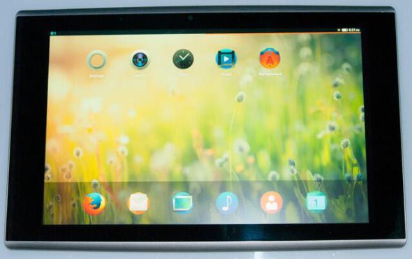 Firefox OS Tablet Prototyp