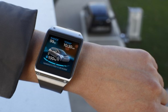 Galaxy Gear and BMW i3 (1) 2