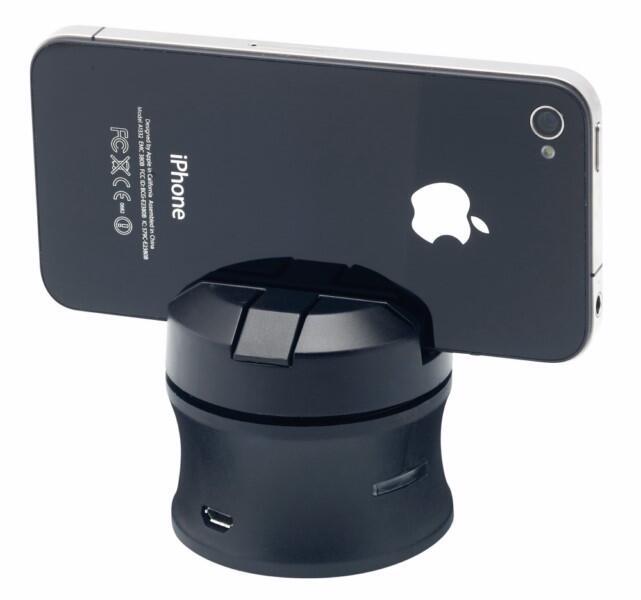 Verhüten Mit Dem Smartphone: Callstel 360-Grad-Panoramaständer Sorgt Für