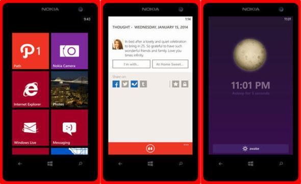 Path Windows Phone Header