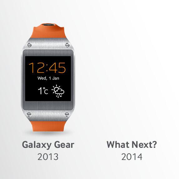 Samsung Galaxy Gear Teaser