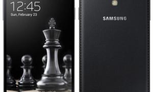 Samsung Galaxy S4 and S4 mini Black Edition