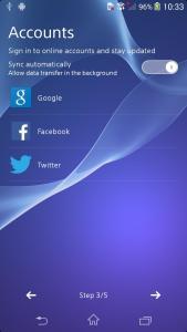 Sony D6503 Screen 4