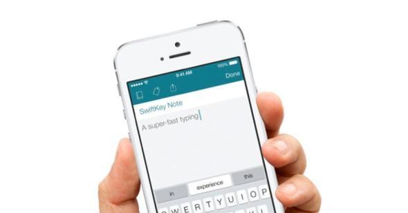 SwiftKey Note Header