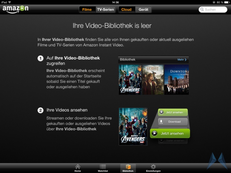 Amazon Prime Instant Video iPad App (2)