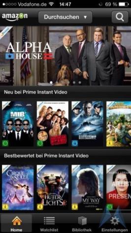 Amazon Prime Instant Video iPhone App iOS (1)