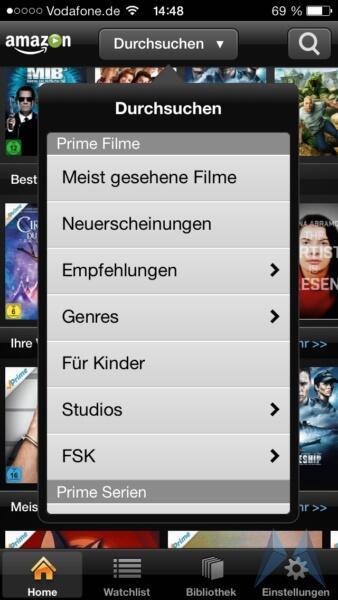 Amazon Prime Instant Video iPhone App iOS (4)