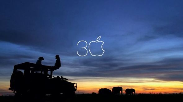 Apple 30 Jahre Mac Header