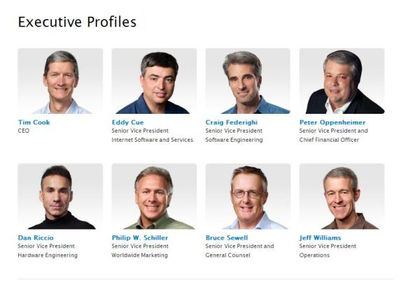 Apple Leadership