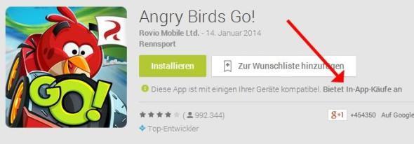 Bietet In-App-Käufe an