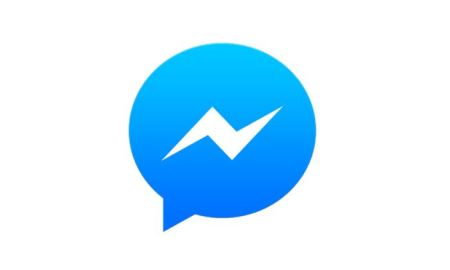 Facebook Messenger Logo Icon Header