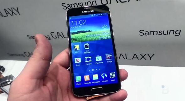 Galaxy S5 Hands on