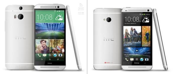 HTC M8 vs One
