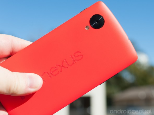 Nexus 5 Rot Top