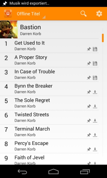 Play Music Exporter Android (5) 6