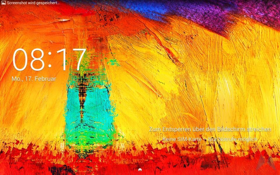 Samsung Galaxy Note 10.1 2014 Edition Screenshot (2)