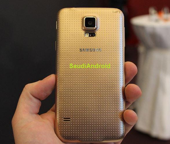 Samsung Galaxy S5 Rückseite