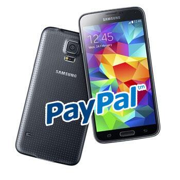 Samsung Galaxy S5 und Paypal