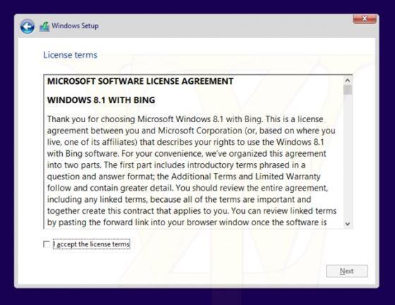 Windows mit Bing