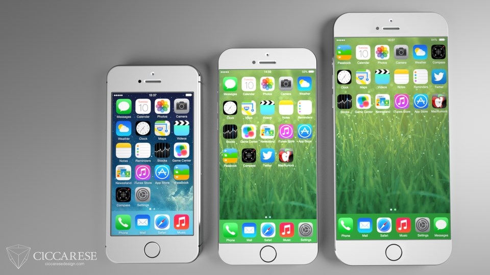 iPhone 6 Konzept All