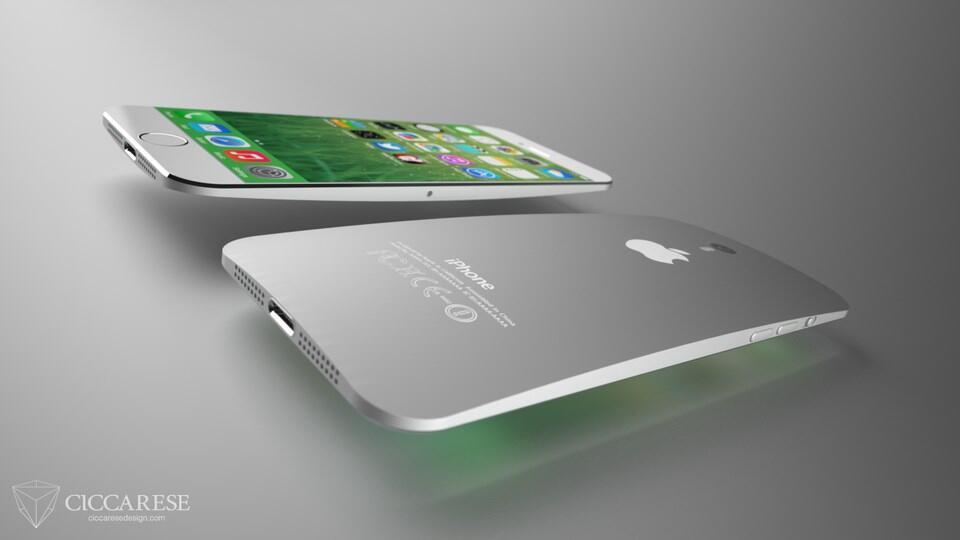 iPhone 6 Konzept Back