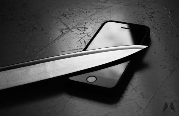iPhone Apple Messer Display Header