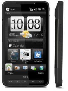Schlanke Figur, kaum Rahmen - HTC HD2 könnte ruhig im Jahr 2011 erscheinen, ohne als veraltet gebrandmarkt zu werden.